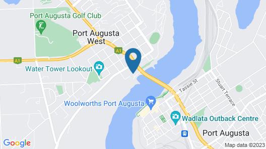 Comfort Inn & Suites Augusta Westside Map