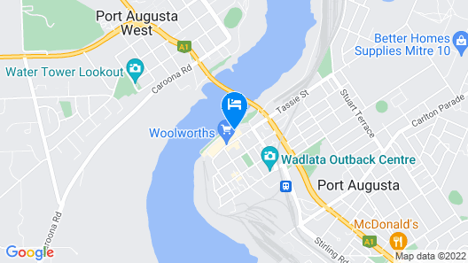 Majestic Oasis Apartments Map