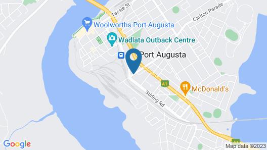 Pastoral Hotel Motel Map