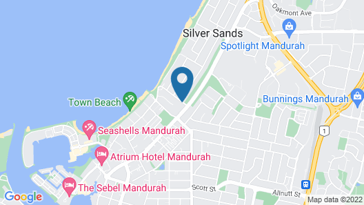 Silver Sands Resort Map