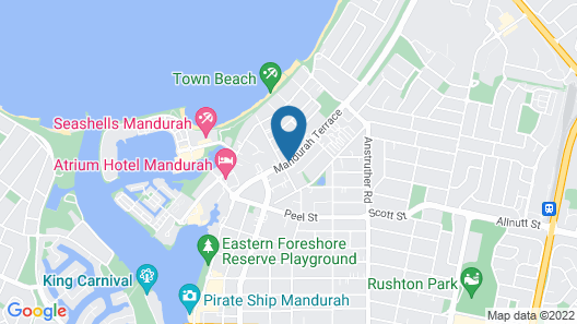 Mandurah Family Resort Map