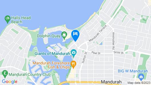 Atrium Resort Hotel Map