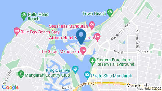 Mandurah Private Collection Map