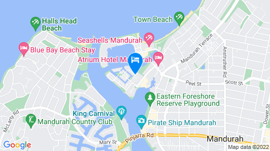 Dolphin Quay Apartments Map