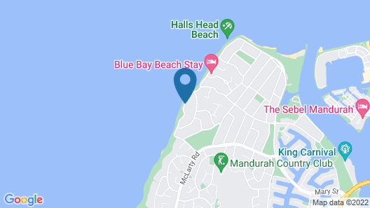 Beach Front - The Wedge (Adults Only) Map