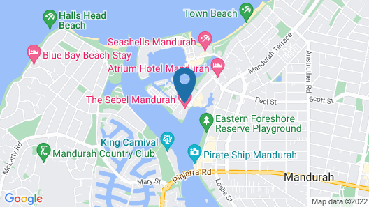 The Sebel Mandurah Map