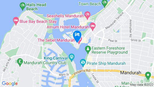 Seapoint 109 Map