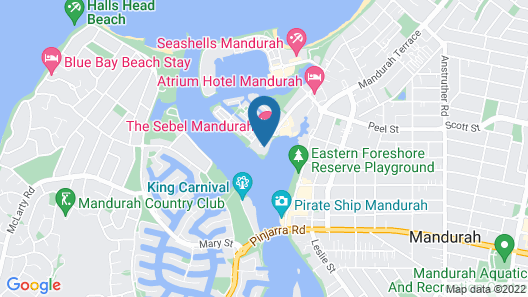 Bridgepoint 706 Map