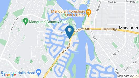 C Mandurah Resort Map