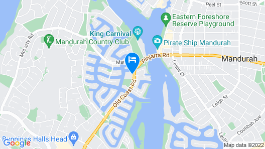 C Mandurah Resort Map
