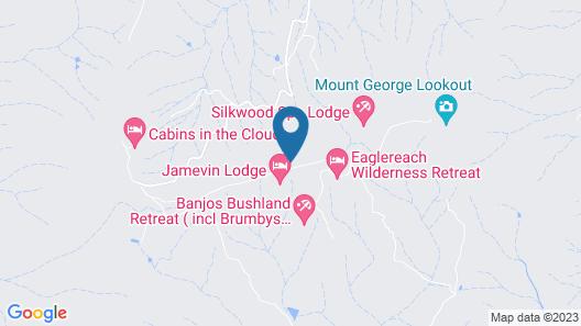 Bela Vista Spa Cabin Map