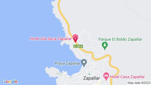 Hotel Isla Seca Map