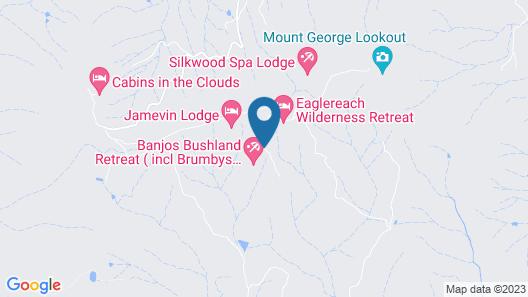 Eaglereach Wilderness Resort Map