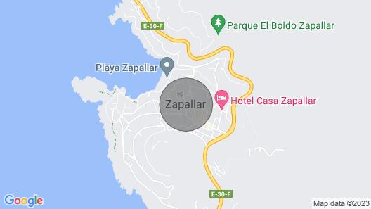 Gran Parcela Eduardo Zapallar Map