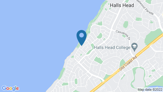 Beach House at SeaScapes Map
