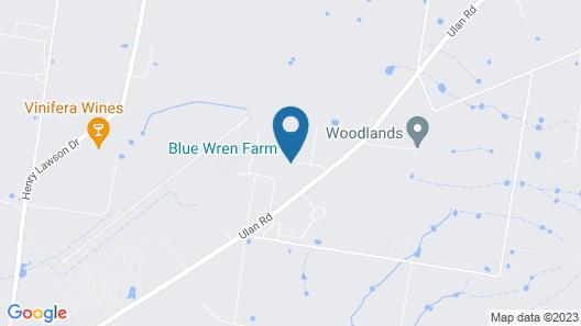 Blue Wren Farm- Glamping Map