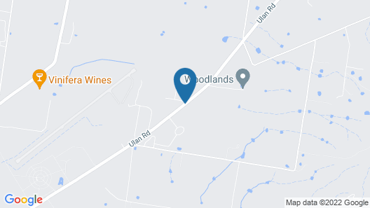 The Farmhouse at Blue Wren Wines Map