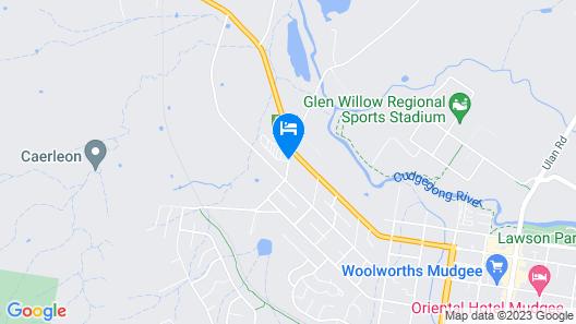 Mudgee Valley Park Map