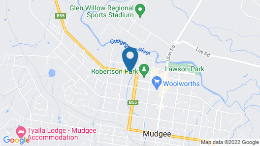 Wanderlight Motor Inn Map