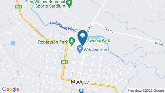 The Woolpack Hotel Map
