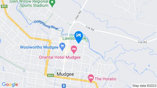 A Market Place Mudgee Map