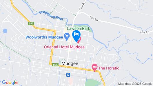 Ningana Motel Map