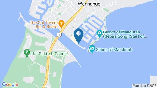 Marina View Chalets Map