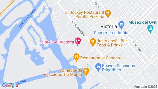 Sol Victoria Hotel, Spa & Casino Map