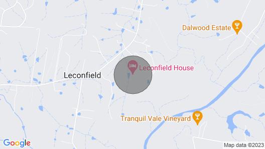 Leconfield House, Heritage Accommodation, Pokolbin Hunter Valley Map