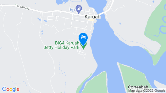 BIG4 Karuah Jetty Holiday Park Map