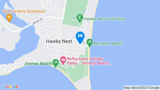 Ocean Side Hawks Nest Map
