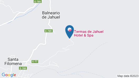 Termas Jahuel Hotel & Spa Map
