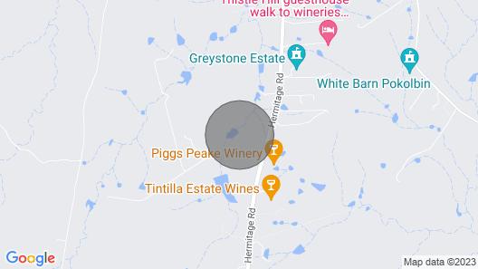 Ironbark Hill Villa 4 Map