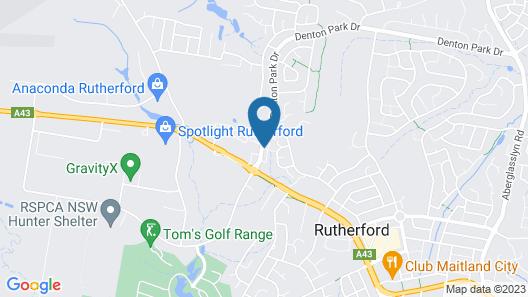 Hunter Gateway Motel Map