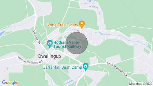 Dwellingup Hideaway - State Forest ; dog Friendly; Late Checkout Available!! Map