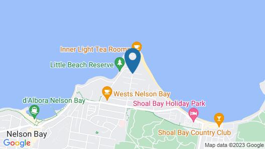 Marty's @ Little Beach Map