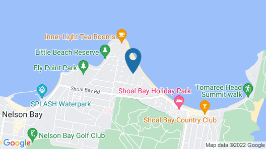 The Penthouse at Little Beach Map