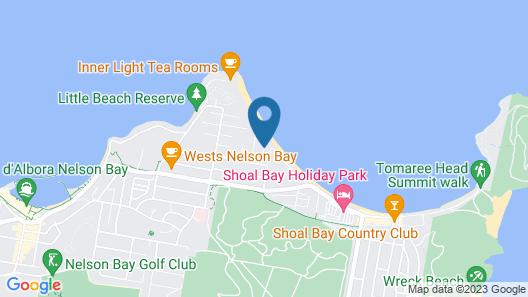 Beachfront Shoal Bay Map