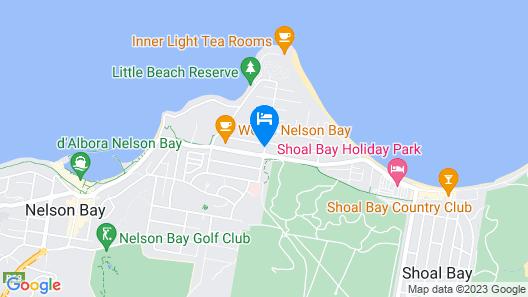 Admiral Nelson Motor Inn Map