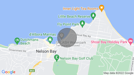 Mariners Rest Unit 3 - Nelson Bay Map