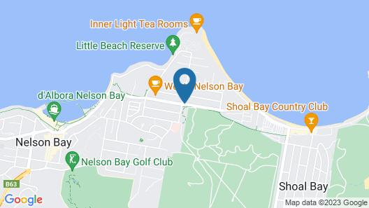 Peninsula Nelson Bay Map