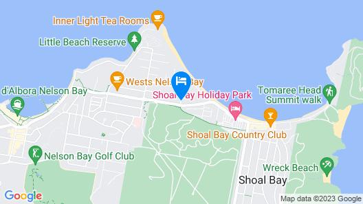 Shoal Bay Beachclub Apartments Map