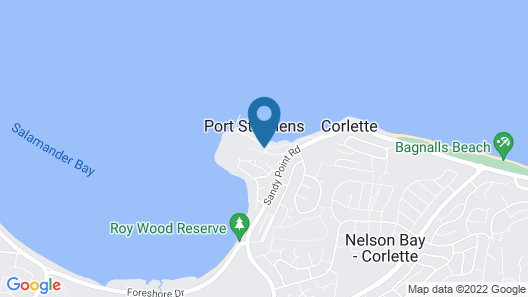 Anchorage Port Stephens Map
