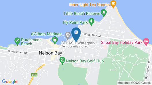 Port Stephens Motel Map