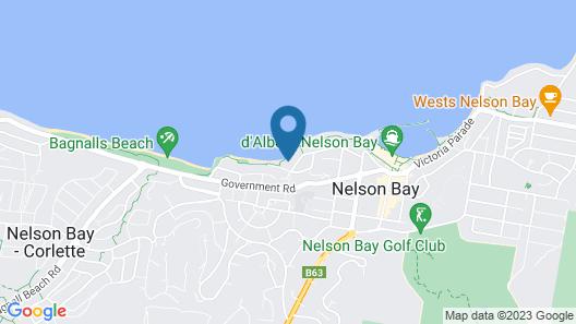 Amarna Luxury Beach Resort Map