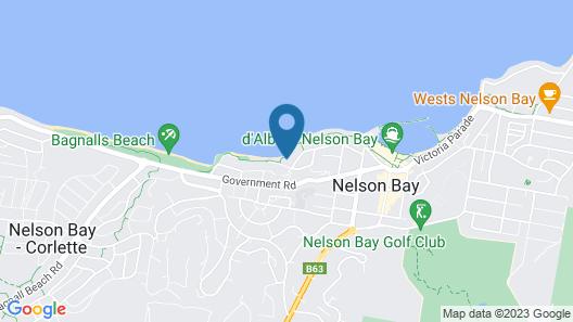 Dutchies Motel Nelson Bay Map
