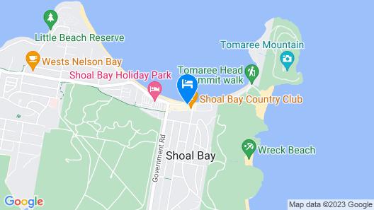 Barrington, 713/35-45 Shoal Bay Road Map