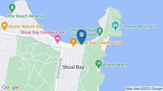 Shoal Towers, Unit 3/11 Shoal Bay Road Map