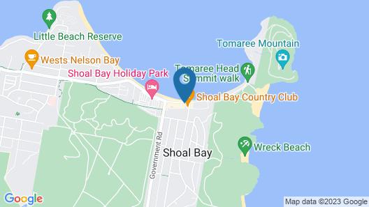 Ramada Resort by Wyndham Shoal Bay Map
