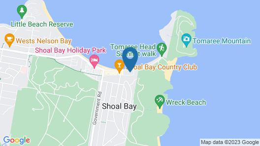 Castaways, Unit 1/17 Shoal Bay Road Map